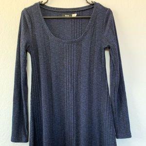 BDG Navy Sweater Dress - MEDIUM